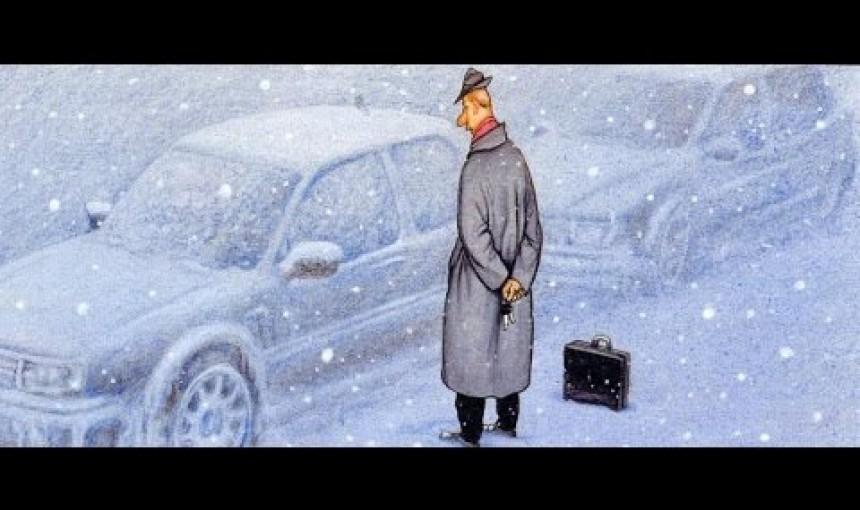 Как октрыть замерзший автомобиль?